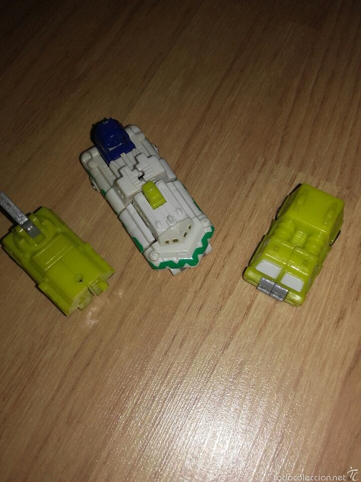 TRANSFORMERS MINIATURA ANTIGUOS (Juguetes - Figuras de Acción - Transformers)