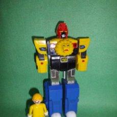 Figuras y Muñecos Transformers: DIFÍCIL FIGURA TRANSFORMERS BANDAI 1988 ROBOT TRANSFORMER MEGAZORD TIGREZORD COLECCIÓN VINTAGE. Lote 54626519