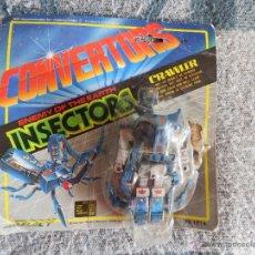 Figuras y Muñecos Transformers: TRANSFORMERS ROBOT CONVERTORS ORIGINAL INSECTORS CRAWLER. Lote 55057601