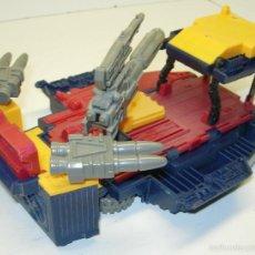 Figuras y Muñecos Transformers: BASE TRANSFORMERS GROUNDSHAKER + SKYHOPPER, MICROMASTER 1989 TAKARA HASBRO. Lote 56217478