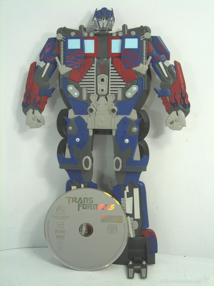 RARA CARATULA DVD - TRANSFORMERS UNO - EDICION ESPECIAL COLECCIONISTAS 2007 - 1 UNO (Juguetes - Figuras de Acción - Transformers)