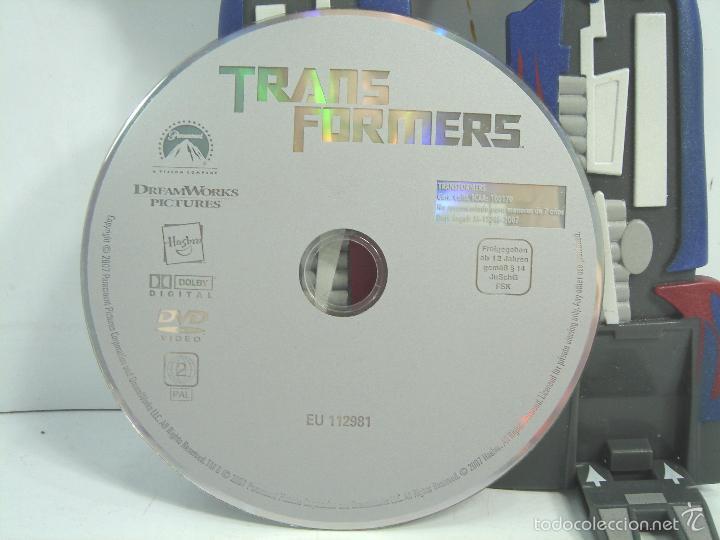 Figuras y Muñecos Transformers: RARA CARATULA DVD - TRANSFORMERS UNO - EDICION ESPECIAL COLECCIONISTAS 2007 - 1 UNO - Foto 10 - 56463173