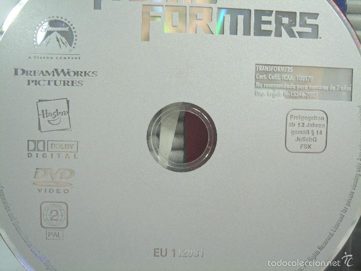 Figuras y Muñecos Transformers: RARA CARATULA DVD - TRANSFORMERS UNO - EDICION ESPECIAL COLECCIONISTAS 2007 - 1 UNO - Foto 11 - 56463173