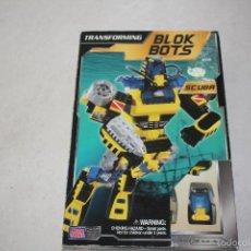 Figuras y Muñecos Transformers: CAJA A ESTRENAR CON TRANSFORMER MEGLA BLOKS. Lote 56973794