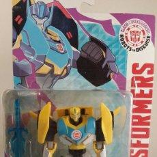 Figuras y Muñecos Transformers: TRANSFORMERS BUMBEBLEE - HASBRO AUTHENTIC TRANSFORMERS. BLISTER ABIERTO PEGADO CON FISO.. Lote 57315122