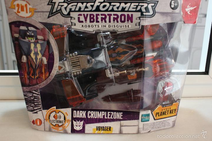 TRANSFORMERS CYBERTRON DARK CRUMPLEZONE.HASBRO 2005.EN SU CAJA A ESTRENAR (Juguetes - Figuras de Acción - Transformers)