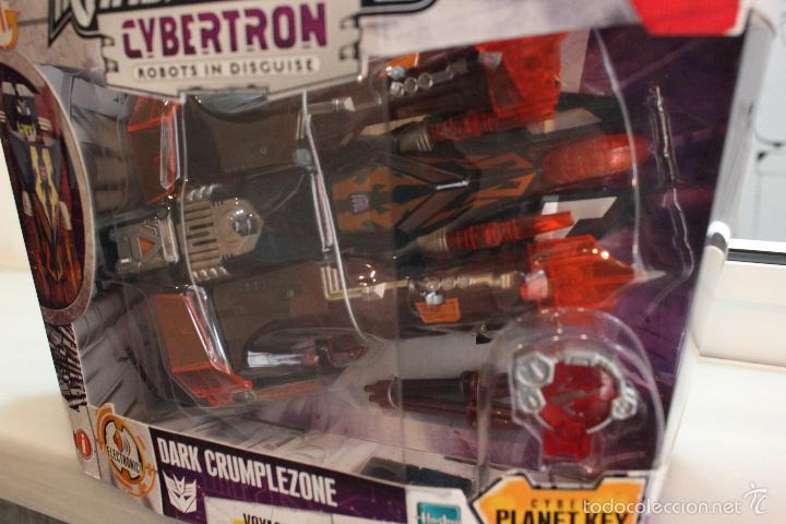 Figuras y Muñecos Transformers: TRANSFORMERS CYBERTRON DARK CRUMPLEZONE.HASBRO 2005.EN SU CAJA A ESTRENAR - Foto 2 - 58339048