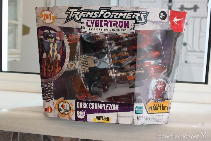 Figuras y Muñecos Transformers: TRANSFORMERS CYBERTRON DARK CRUMPLEZONE.HASBRO 2005.EN SU CAJA A ESTRENAR - Foto 3 - 58339048