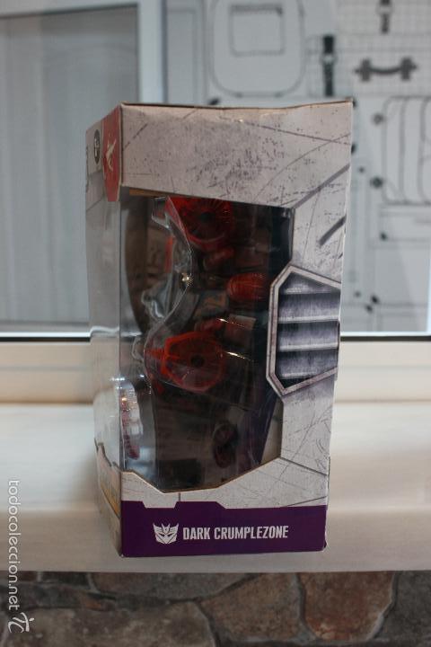 Figuras y Muñecos Transformers: TRANSFORMERS CYBERTRON DARK CRUMPLEZONE.HASBRO 2005.EN SU CAJA A ESTRENAR - Foto 4 - 58339048