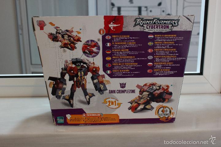 Figuras y Muñecos Transformers: TRANSFORMERS CYBERTRON DARK CRUMPLEZONE.HASBRO 2005.EN SU CAJA A ESTRENAR - Foto 5 - 58339048