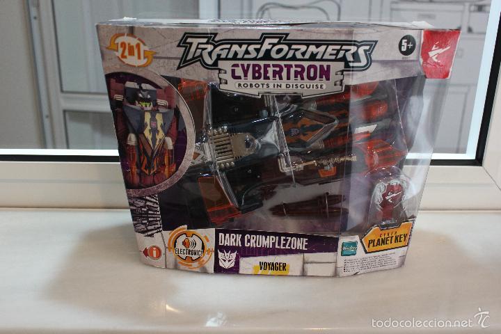 Figuras y Muñecos Transformers: TRANSFORMERS CYBERTRON DARK CRUMPLEZONE.HASBRO 2005.EN SU CAJA A ESTRENAR - Foto 7 - 58339048
