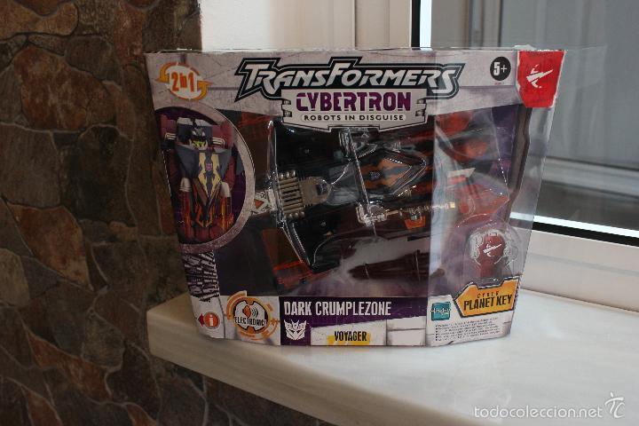 Figuras y Muñecos Transformers: TRANSFORMERS CYBERTRON DARK CRUMPLEZONE.HASBRO 2005.EN SU CAJA A ESTRENAR - Foto 8 - 58339048