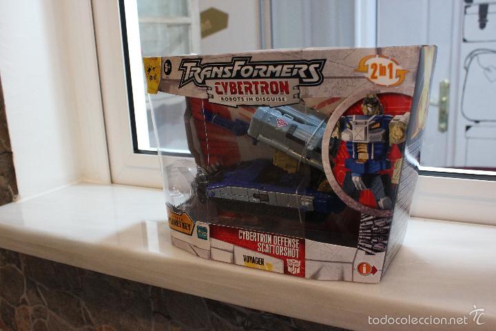 Figuras y Muñecos Transformers: TRANSFORMERS CYBERTRON.CYBERTRON DEFENSE SCATTORSHOT. HASBRO 2006.EN SU CAJA SIN ESTRENAR - Foto 2 - 58339366