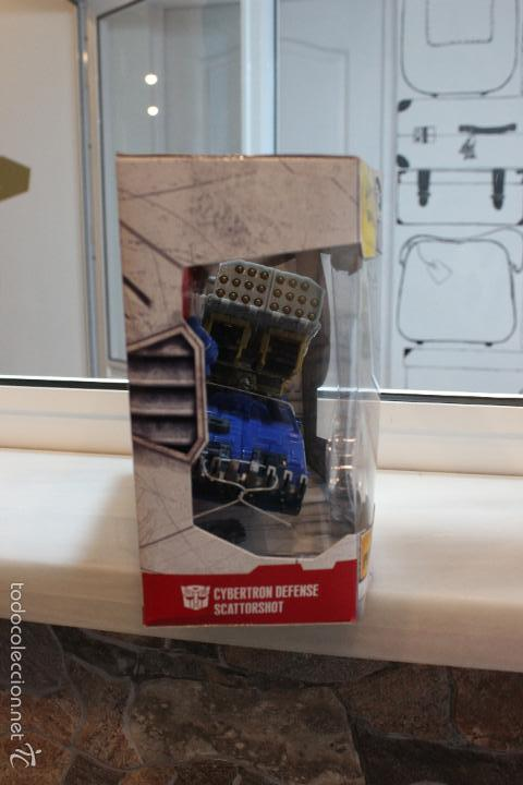 Figuras y Muñecos Transformers: TRANSFORMERS CYBERTRON.CYBERTRON DEFENSE SCATTORSHOT. HASBRO 2006.EN SU CAJA SIN ESTRENAR - Foto 4 - 58339366