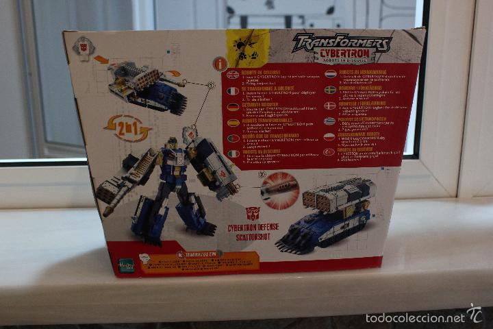 Figuras y Muñecos Transformers: TRANSFORMERS CYBERTRON.CYBERTRON DEFENSE SCATTORSHOT. HASBRO 2006.EN SU CAJA SIN ESTRENAR - Foto 5 - 58339366