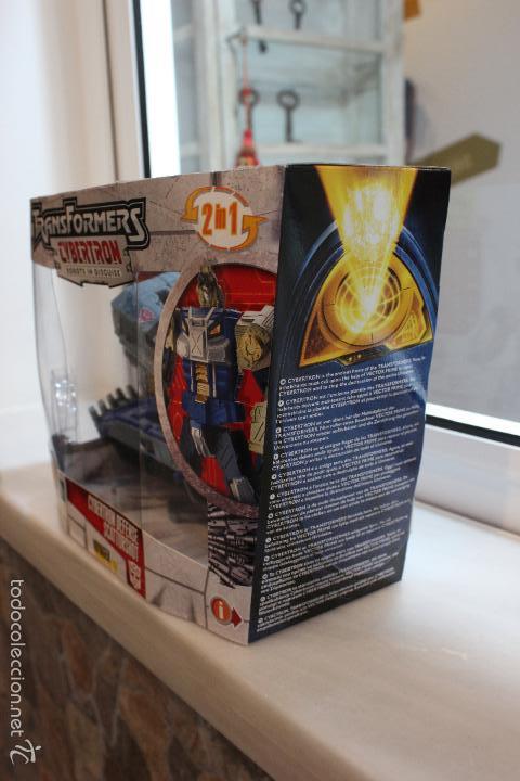 Figuras y Muñecos Transformers: TRANSFORMERS CYBERTRON.CYBERTRON DEFENSE SCATTORSHOT. HASBRO 2006.EN SU CAJA SIN ESTRENAR - Foto 6 - 58339366