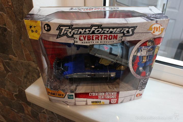 Figuras y Muñecos Transformers: TRANSFORMERS CYBERTRON.CYBERTRON DEFENSE SCATTORSHOT. HASBRO 2006.EN SU CAJA SIN ESTRENAR - Foto 8 - 58339366