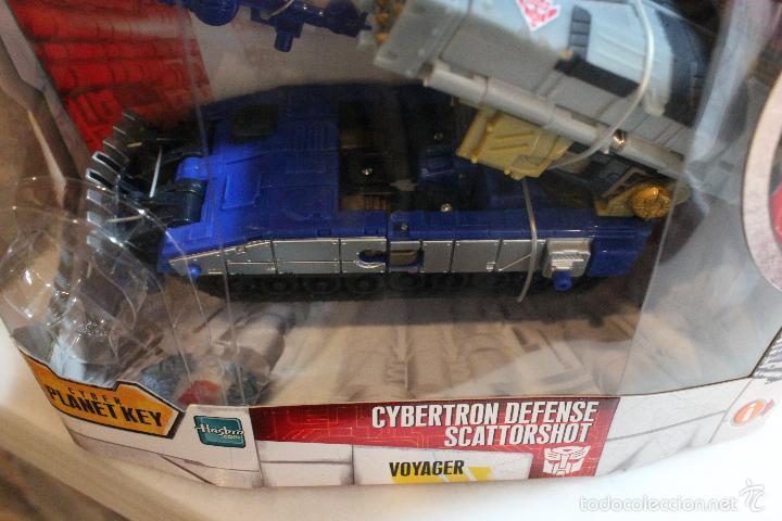 Figuras y Muñecos Transformers: TRANSFORMERS CYBERTRON.CYBERTRON DEFENSE SCATTORSHOT. HASBRO 2006.EN SU CAJA SIN ESTRENAR - Foto 9 - 58339366