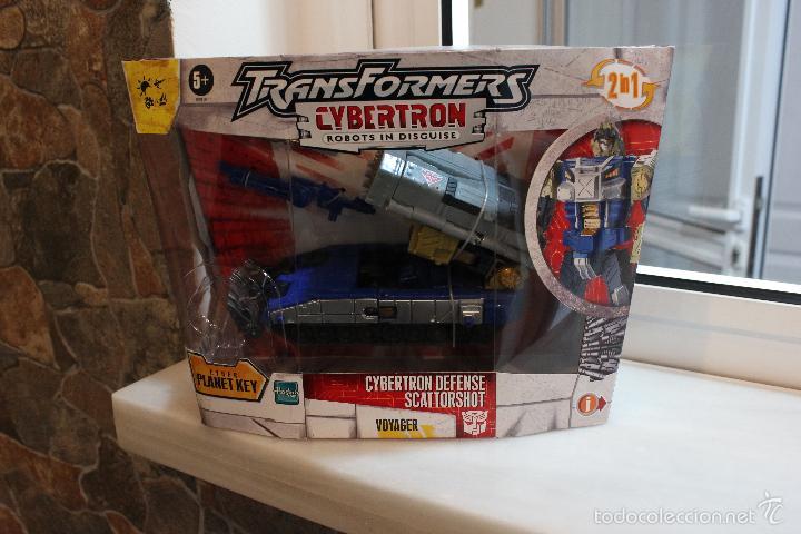 Figuras y Muñecos Transformers: TRANSFORMERS CYBERTRON.CYBERTRON DEFENSE SCATTORSHOT. HASBRO 2006.EN SU CAJA SIN ESTRENAR - Foto 10 - 58339366