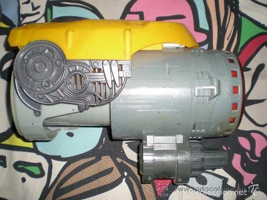 PUÑO BUMBLEBEE CON SONIDO Y LUZ SEGUNDA ENTREGA EN CINES DE TRANSFORMERS FUNCIONANDO (Juguetes - Figuras de Acción - Transformers)