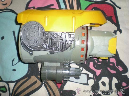 Figuras y Muñecos Transformers: puño Bumblebee con sonido y luz segunda entrega en cines de Transformers funcionando - Foto 2 - 177756045