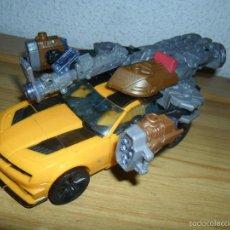 Figuras y Muñecos Transformers: TRANSFORMER BUMBLEBEE LEADER CLASS MECHTECH (HASBRO, 2011) TRANSFORMERS DARK OF THE MOON. Lote 60947979