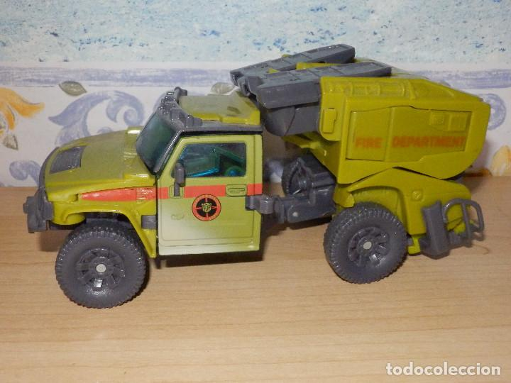 TRANSFORMER - COCHE FIRE DEPARTMEN VERDE - SIN DETERMINAR - (Juguetes - Figuras de Acción - Transformers)