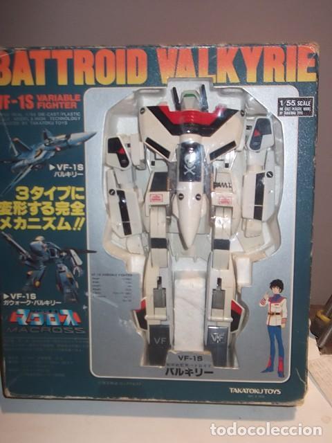Transformer takatoku toys battroid valkyrie en - Sold through Direct Sale -  64863115