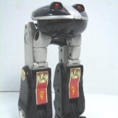 Figuras y Muñecos Transformers: RAR FIGURA TRANSFORMERS RANA - 20 CMS -DELUXE NINJA MAGAZORD - 80S - MUÑECO JUGUETE TRANSFORMER. Lote 66189234