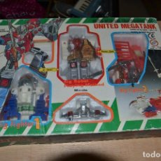 Figuras y Muñecos Transformers: ROBOT TRANSFORMER BIG FIGHTER 1 UNITED MEGATANK . Lote 66219622