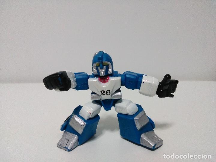 FIGURA TRANSFORMERS - ROBOT HEROES - MIRAGE - AUTOBOT (Juguetes - Figuras de Acción - Transformers)
