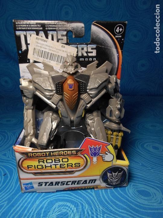 ROBO FIGHTERS STARSCREAM DECEPTION, HASBRO 2011 A ESTRENAR !! (Juguetes - Figuras de Acción - Transformers)