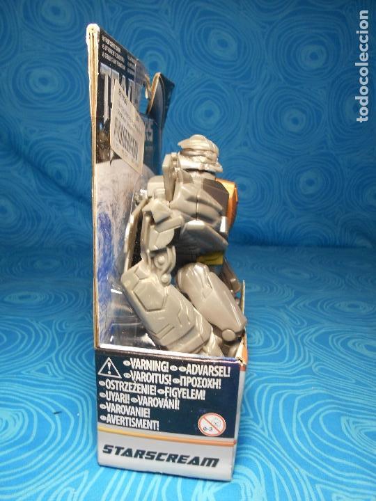 Figuras y Muñecos Transformers: ROBO FIGHTERS STARSCREAM DECEPTION, HASBRO 2011 A ESTRENAR !! - Foto 2 - 74101107