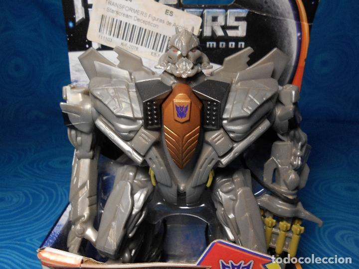 Figuras y Muñecos Transformers: ROBO FIGHTERS STARSCREAM DECEPTION, HASBRO 2011 A ESTRENAR !! - Foto 6 - 74101107