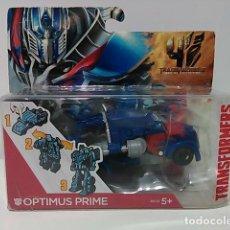 Figuras y Muñecos Transformers: OPTIMUS PRIME -TRANSFORMERS: LA ERA DE LA EXTINCIÓN - 1 PASO - BLISTER. Lote 75791247