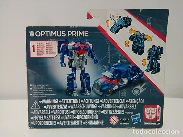Figuras y Muñecos Transformers: Optimus Prime -Transformers: La era de la extinción - 1 paso - blister - Foto 2 - 75791247