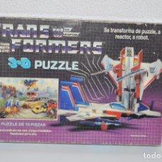 Figuras y Muñecos Transformers: PUZZLE 3D TRANSFORMERS MB DECEPTICONS . Lote 76804531