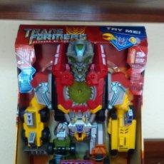 Figuras y Muñecos Transformers: TRANSFORMERS - DEVASTATOR - CONSTRUCTICON - MEGA POWER BOTS - REVENGE FALLEN - NUEVO. Lote 77312745