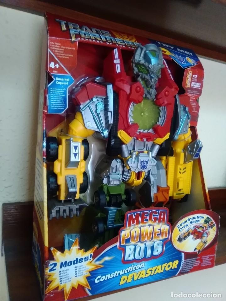 Figuras y Muñecos Transformers: TRANSFORMERS - DEVASTATOR - CONSTRUCTICON - MEGA POWER BOTS - REVENGE FALLEN - NUEVO - Foto 2 - 77312745