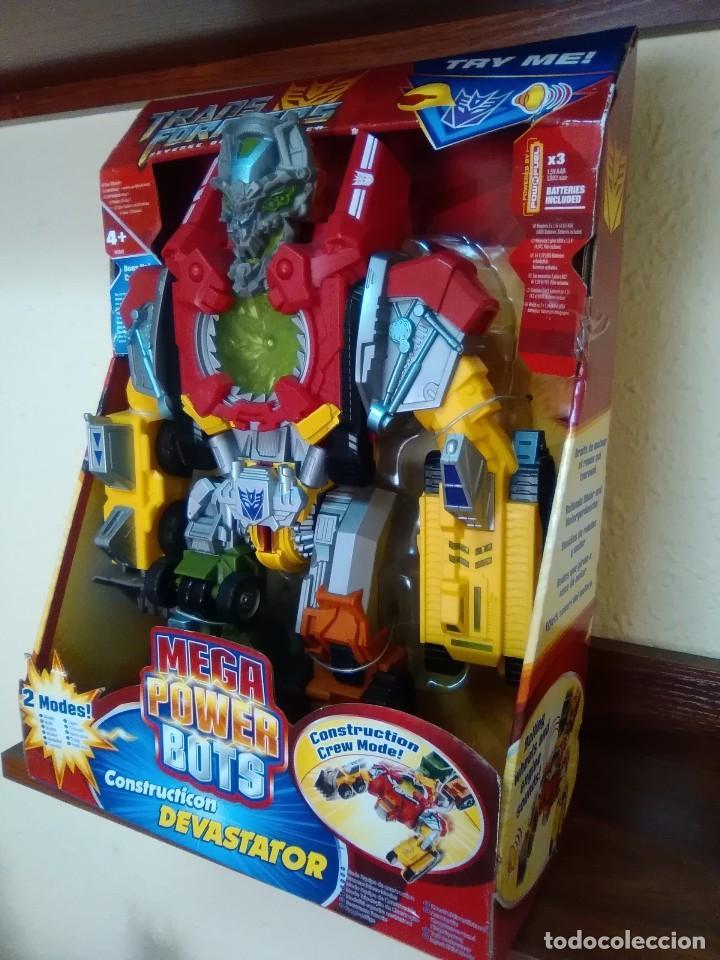 Figuras y Muñecos Transformers: TRANSFORMERS - DEVASTATOR - CONSTRUCTICON - MEGA POWER BOTS - REVENGE FALLEN - NUEVO - Foto 3 - 77312745
