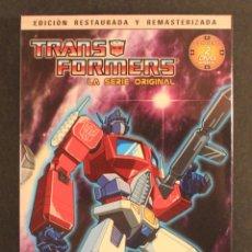 Figuras y Muñecos Transformers: 2007 SELECTA VISIÓN - TRANSFORMERS: LA SERIE ORIGINAL - EPISODIOS 1 A 8 - SERIE DIBUJOS ANIMADOS DVD. Lote 81670412