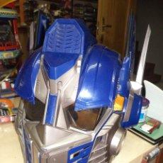 Figuras y Muñecos Transformers: OPTIMUS PRIME.TRANSFORMERS.CASCO / MÁSCARA TAMAÑO REAL HASBRO 2006.. Lote 81840980