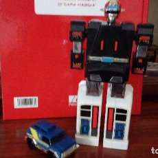 Figuras y Muñecos Transformers: TRANSFORMES POWER RANGER, BANDAI CON TURBORANGER 1989. Lote 82026072