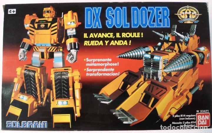 Figuras y Muñecos Transformers: BANDAI: DX SOL DOZER WINSPECTOR -TRANSFORMES. NUEVO.AÑOS 90. - Foto 2 - 82899328