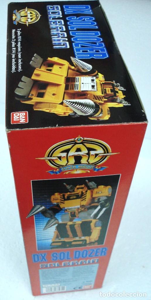 Figuras y Muñecos Transformers: BANDAI: DX SOL DOZER WINSPECTOR -TRANSFORMES. NUEVO.AÑOS 90. - Foto 3 - 82899328