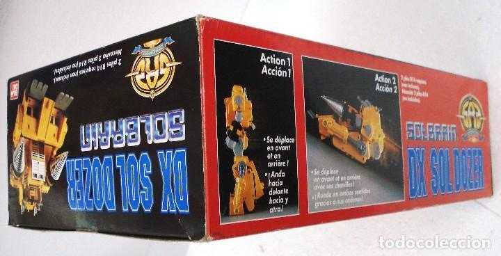 Figuras y Muñecos Transformers: BANDAI: DX SOL DOZER WINSPECTOR -TRANSFORMES. NUEVO.AÑOS 90. - Foto 4 - 82899328