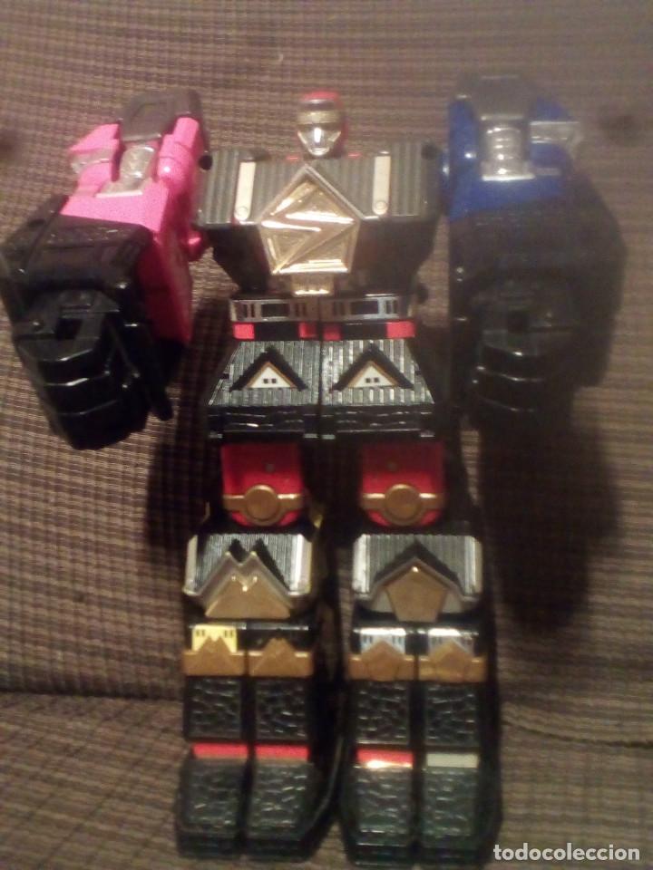 MUÑECO,FIGURA BANDAI 1995, MEGAZORD SHOGUN POWER RANGERS (Juguetes - Figuras de Acción - Transformers)