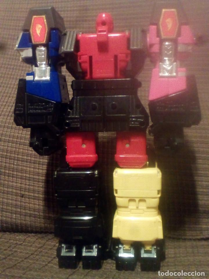 Figuras y Muñecos Transformers: MUÑECO,FIGURA BANDAI 1995, MEGAZORD SHOGUN POWER RANGERS - Foto 2 - 90590840