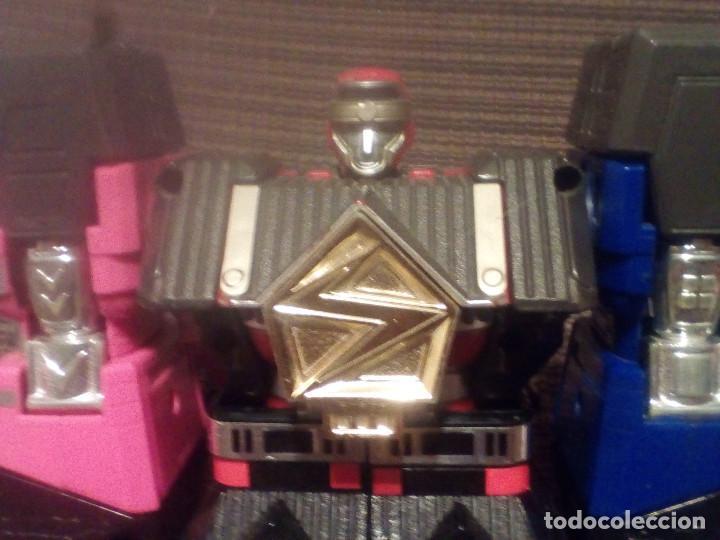 Figuras y Muñecos Transformers: MUÑECO,FIGURA BANDAI 1995, MEGAZORD SHOGUN POWER RANGERS - Foto 4 - 90590840