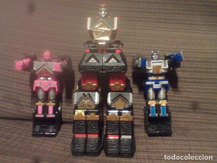 Figuras y Muñecos Transformers: MUÑECO,FIGURA BANDAI 1995, MEGAZORD SHOGUN POWER RANGERS - Foto 6 - 90590840